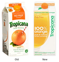Tropicana's Bad Redesign